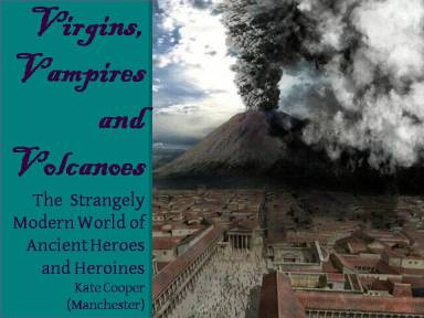 Virgins, Vampires and Volcanoes - cover image