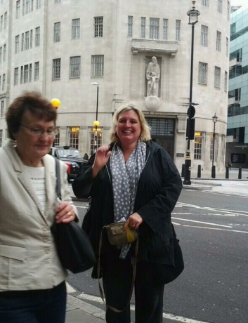 Kate at BBC House