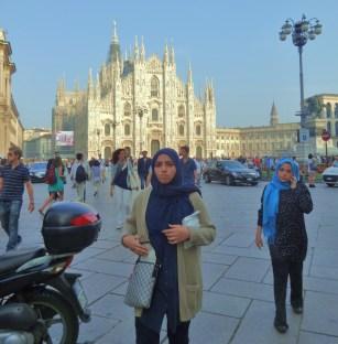 Veiled Duomo Milan