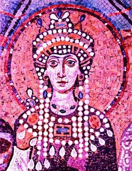 Wikimedia Theodora - from Meister_von_San_Vitale_in_Ravenna_008