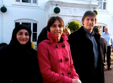 Anjum Gladys & Sean - Milton Keynes Jan 2014