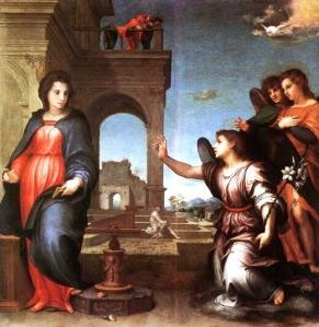Andrea dal Sarto Annunciation