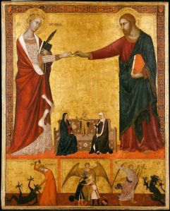 Barna_da_Siena._Mystic_Marriage_of_st_Catherine._Boston_MFA