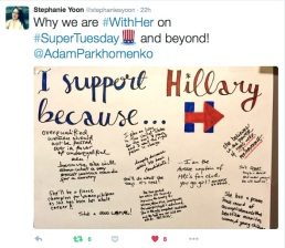support hillary